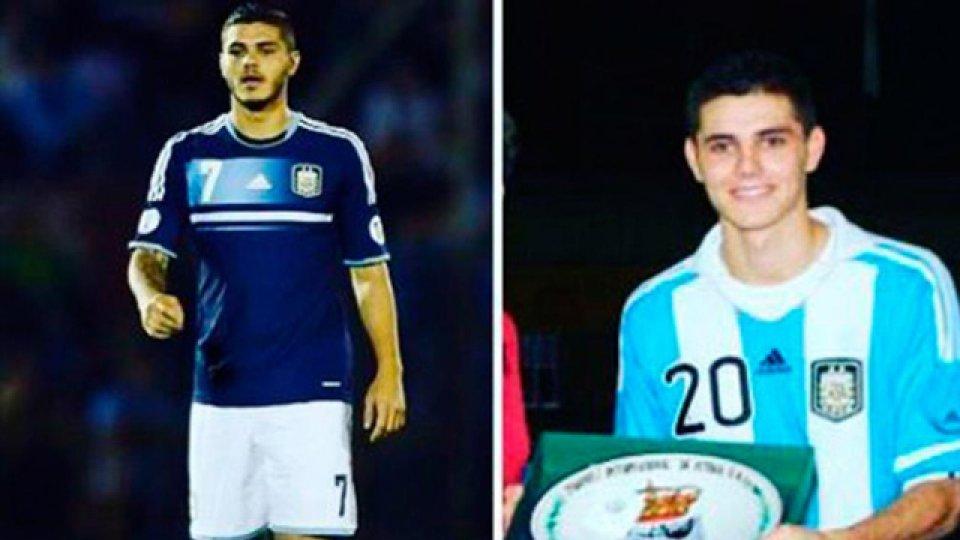 El jugador de Inter expresó su alegría en Instagram.