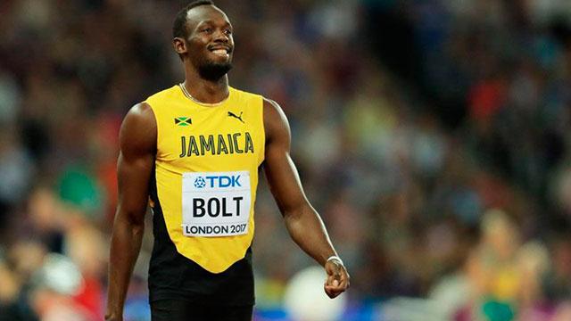 """""""Gracias a mi gente"""", expresó el velocista jamaicano."""
