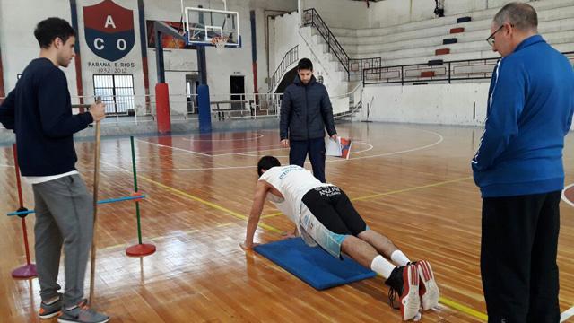 El plantel de Pipi Vesco arrancó los entrenamientos.