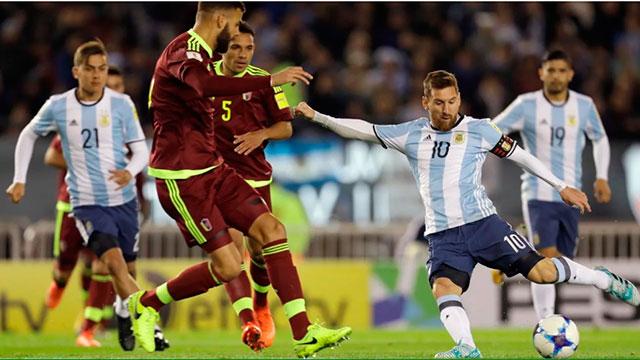 Argentina jugará un amistoso contra Venezuela