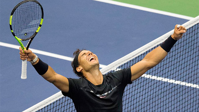Nadal le ganó a Kevin Anderson y conquistó su tercer US Open.