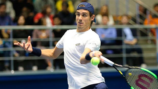 Guido cayó en el tie-break del tercer set tras 2 horas y 28 minutos de partido.