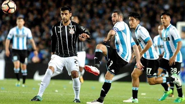 Racing eliminó a Corinthians y se metió en los cuartos de la Sudamericana