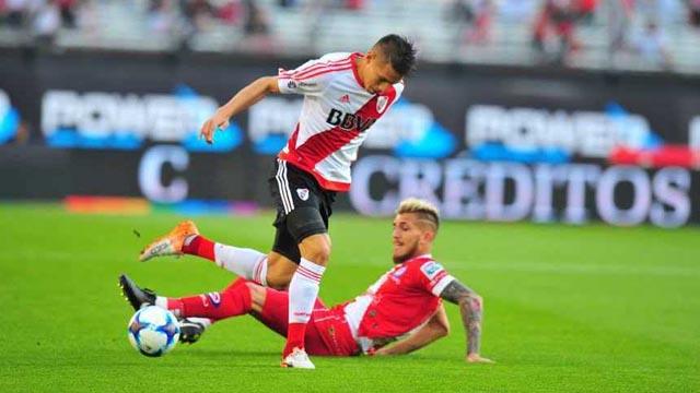 River empata con Argentinos en el Monumental por la Superliga