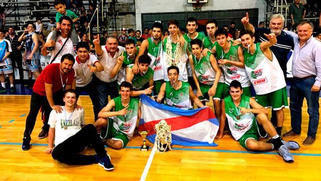 Entre Ríos se consagró campeón. (Foto: CABB)
