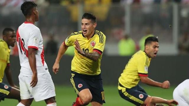 Colombia se clasificó al Mundial y Perú jugará el repechaje.