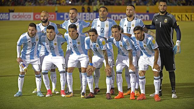 Argentina estará en el Mundial y como cabeza de serie.