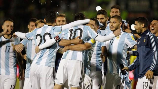 Argentina logró el pasaje a Rusia en Ecuador.
