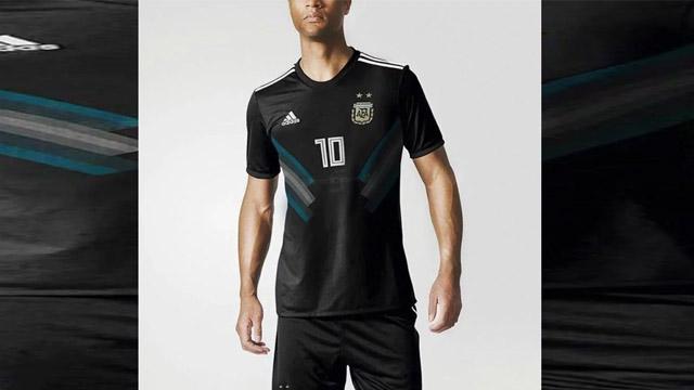 La casaca negra que sería la alternativa para Argentina en el Mundial de Rusia.