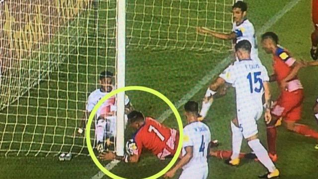 Con un insólito gol los Canaleros se metieron por primera vez en un mundial.
