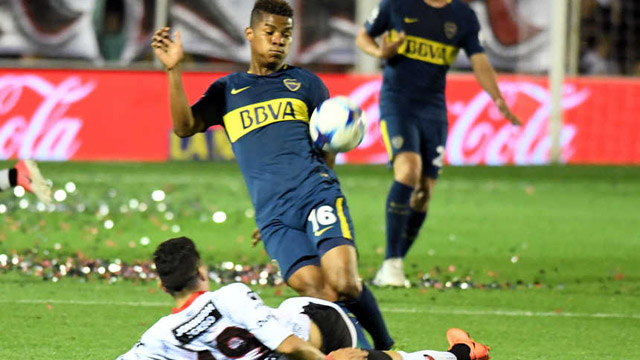 """Barrios será operado y le apunta al clásico: """"Espero poder jugar contra River"""""""