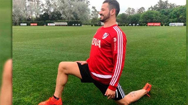 Después de cinco meses, Rodrigo Mora se volvió a poner los botines