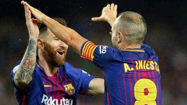 Barcelona no tuvo problemas y con la presencia de Messi venció a Málaga