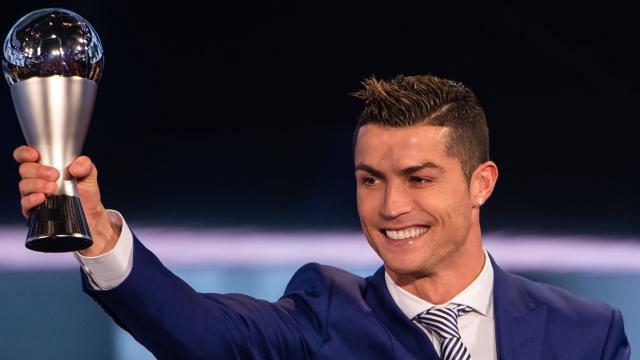 Cristiano Ronaldo se quedó nuevamente con el premio The Best