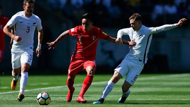 Perú empató sin goles en Nueva Zelanda.
