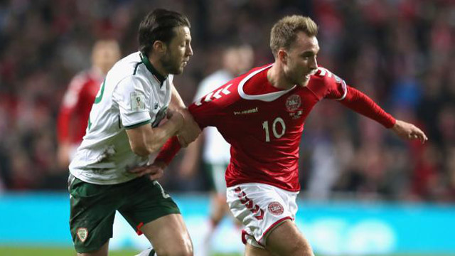 Dinamarca e Irlanda no se sacaron ventaja. (Foto: www.tycsports.com.ar)