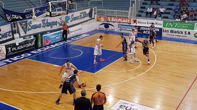 Echagüe ganó por segunda vez en la Liga Argentina.