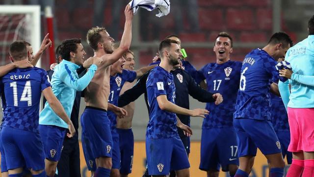 Croacia hizo valer la ventaja obtenida en la Ida. (Foto: www.tycsport.com.ar)