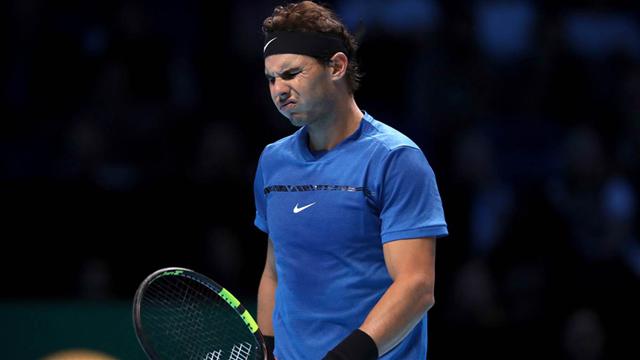 Debut, derrota y despedida para Nadal en el Masters. (Foto DPA)