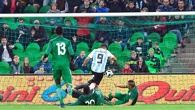 Nigeria dio vuelta un partido increíble y derrotó por goleada a la Argentina.