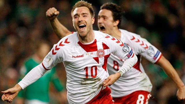 Dinamarca se convirtió este martes en el clasificado número 30 al Mundial.