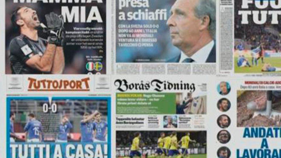 La dura reacción de los medios tras la eliminación de Italia.