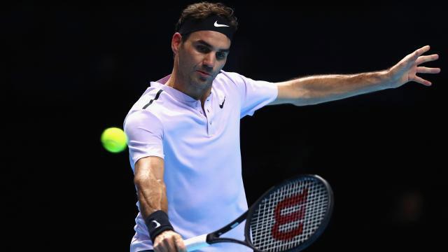 Decimocuarta Semi que jugará Federer en el Torneo de Maestros de Londres.