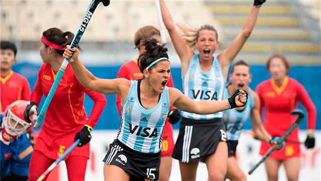Las Leonas golearon a China en su debut en la Liga Mundial.