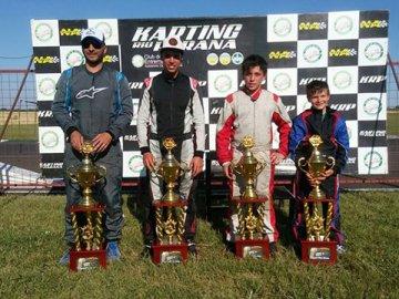 El Karting Río Paraná definió a sus campeones