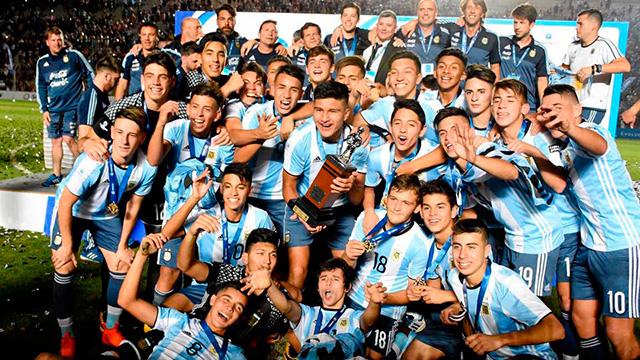 Argentina se consagró campeón Sudamericano Sub 15 por primera vez en su historia