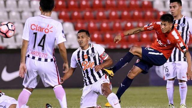 Independiente falló y perdió en Paraguay por la ida en la semifinal de la Sudamericana