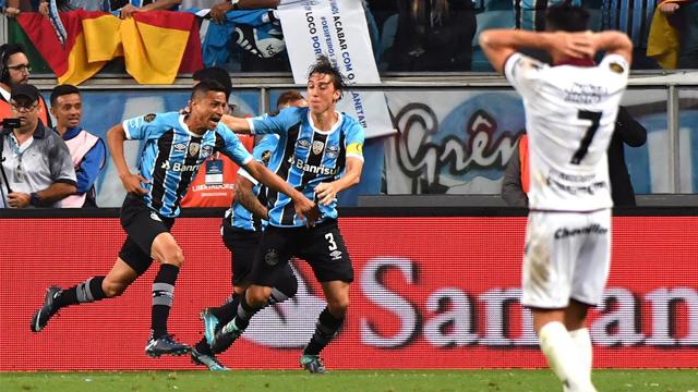 En un final picante, Lanús cayó en Brasil por la primera final de la Copa Libertadores