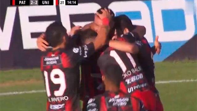 Patronato vence a Chacarita y Sebastián Ribas es goleador del torneo