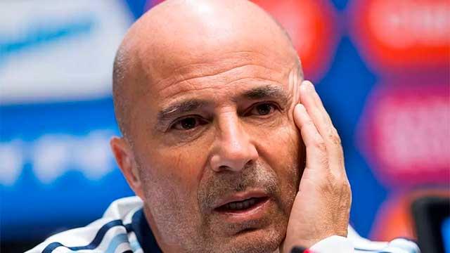 """""""No creo que sea lo ideal jugar con España, Italia e Israel"""", confesó Sampaoli."""