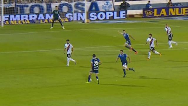 El Tripero se llevó los tres puntos con un gol sobre el final del encuentro.