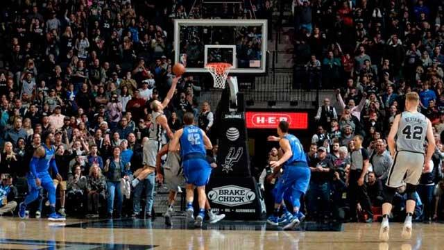 Video: Otra definición increíble de Manu Ginóbili para darle la victoria a los Spurs
