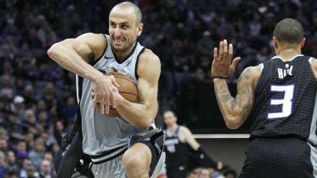 Emanuel Ginóbili no logró ingresar al Juego de las Estrellas de la NBA