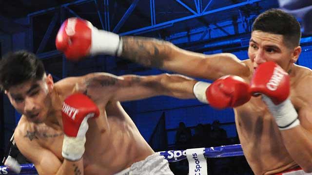Daniel Aquino cayó ante Gabriel Ledesma.