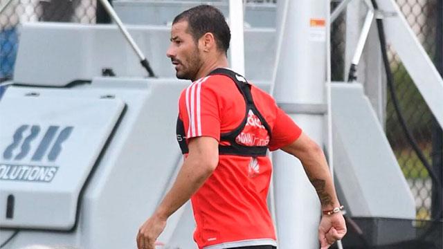 El uruguayo Rodrigo Mora volvió al fútbol.