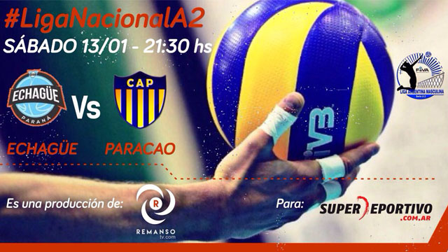 Comienza la temporada del la Liga A2 de Vóley para los representes de Paraná.
