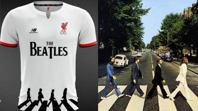 new arrivals 46657 01145 La camiseta que utilizaría el Liverpool en homenaje a The ...