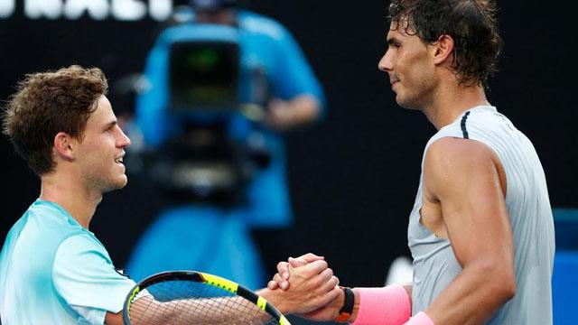 Nadal derrotó a Schwartzman y ya no quedan argentinos en Australia