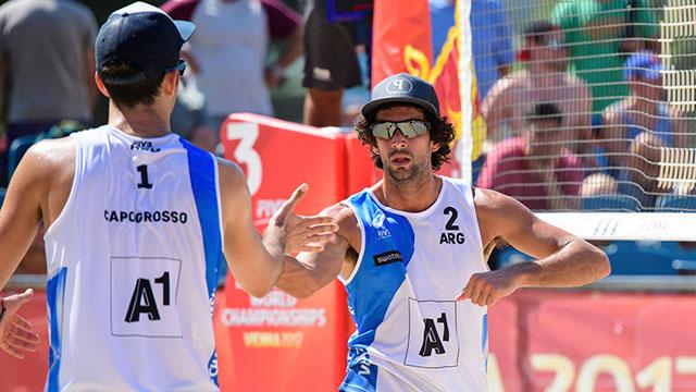 Beach Volley: Azaad está en semifinales y Gallay fue eliminada en Brasil