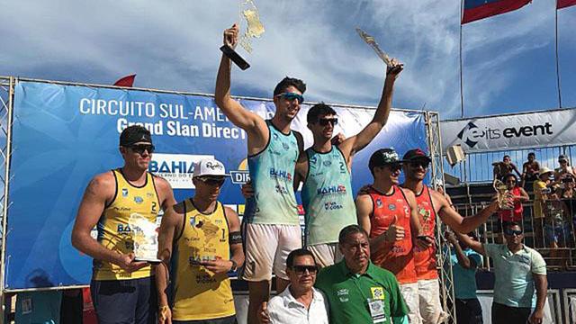 Beach Volley: El entrerriano Azaad se coronó campeón en Brasil