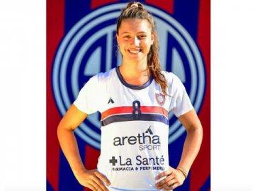 La paranaense Victoria Michel Tosi se sumó al plantel de vóley de San Lorenzo