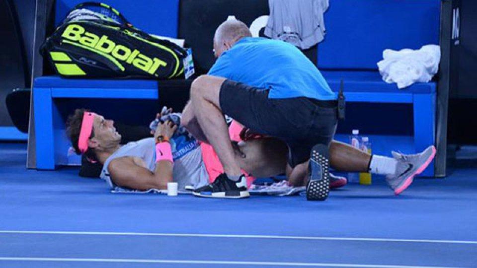 Rafael Nadal se despidió del Abierto de Australia
