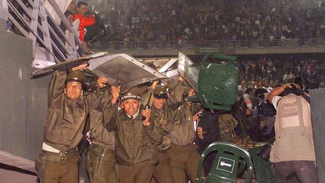 Argentina-Chile, a 18 años de los sillazos.