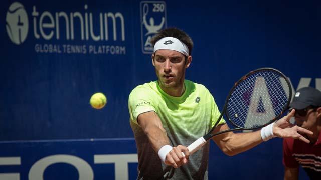 Leo Mayer dio vuelta el marcador en el ATP de Buenos Aires.