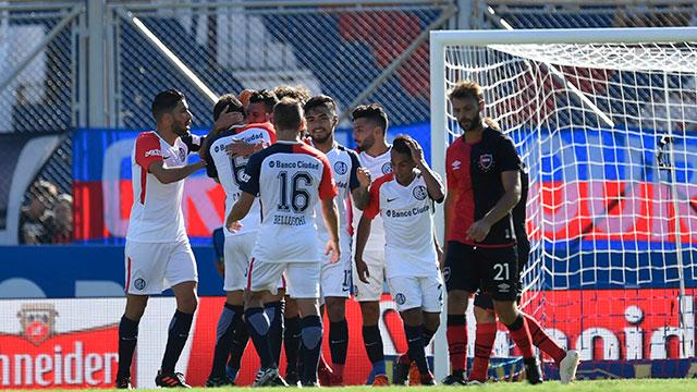 San Lorenzo le ganó a Newell's y volvió a ser escolta de Boca