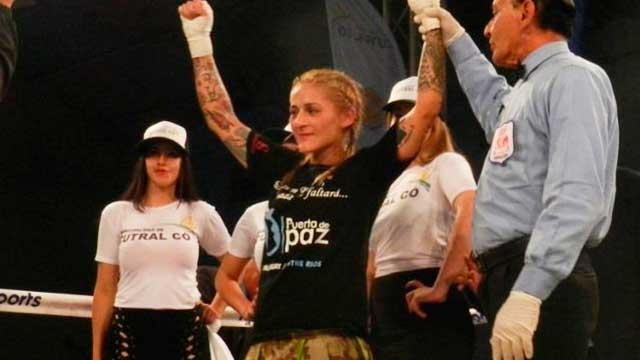 La entrerriana Débora Dionicius retuvo su título mundial supermosca en Neuquén